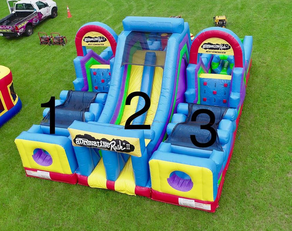 Adrenaline Rush Left Obstacle Side Only (Part 3)