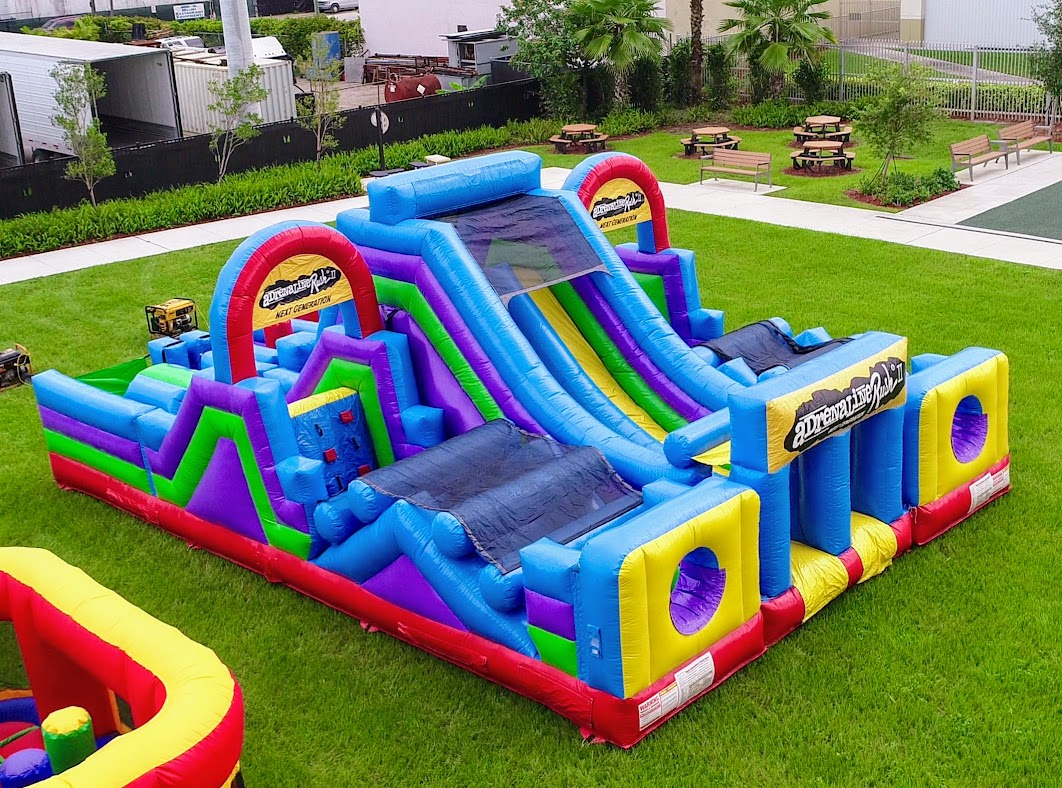 Adrenaline Obstacle Course Rental